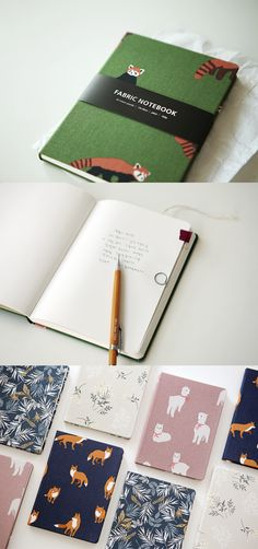 The Dailylike Fabric Pattern Notebook is a simple notebook with many potential! It has 160 pages of plain note, and it is up to you to fill them in as you see fit! Use it for notetaking, journaling, sketching, or however you'd like! It also has beautiful colors and patterns on the cover and has the size to be easily carried. Stationary School, Pretty Notes, Diy Notebook, Bookbinding, Fabric Patterns, Art Projects, Fill, Diy And Crafts, Stationery