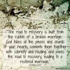 can god heal a broken marriage