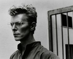 David Bowie // by Helmut Newton