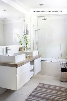 BAÑOS | Inspiración e ideas para tu baño