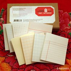Such handsome notes. A bit of useful whimsy for stuffing stockings: Glumemo Duo Sticky Note by Paperways via Hach + Hart