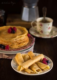 My russian pancakes ))) Mhh ! George Bernard Shaw, Cooking Time, Cooking Recipes, Crepes And Waffles, Pancakes, Breakfast Restaurants, Brunch Buffet, Cakes And More, Cupcake Cakes