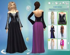 I modified  this dress  to become  long, I hope you like! =)  It is available  in  casual, party and  formal (teen to elder) 10 option...