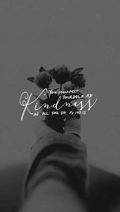 Kindness melts my heart. Cool Words, Wise Words, Bible Verse Wallpaper, Give Me Jesus, Walk By Faith, Word Of God, Christian Quotes, Gods Love, Bible Quotes