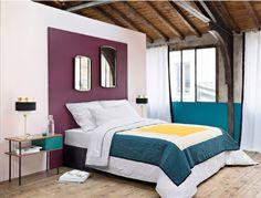 11 must-have bedroom headboard looks - kenisa home Classic Interior, Bedroom Classic, Bedside Lamp, Master Bedroom, Bedroom Decor, Ikea, Sweet Home, House Design, Design Design