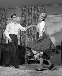 Couple dancing c.1950's