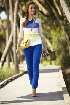 Fall Fashion: Bay Studio Bold and Bright #beallsflorida