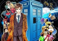 Anime. Honestly the Doctor was hot enough did they have to torment my soul and make him even more so!! Why cant he be real!!!!????
