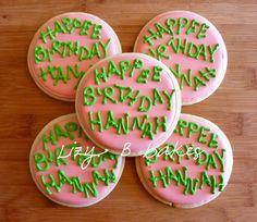 Lizy B: Harry Potter Birthday for Hannah!