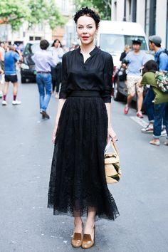 Неделя высокой моды в Париже: Streetstyle. Часть 3, Buro 24/7