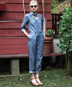 11 Perfect Jumpsuits You'll Want To Wear Over - how about CAbi's Textured Cami & Textured pant??