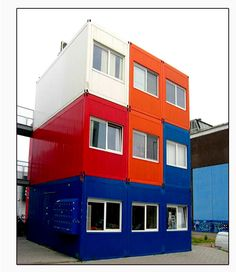 Building Made from Containers