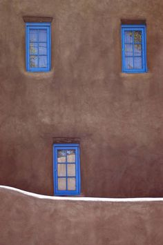 color contrast Blue Windows & Adobe in New Mexico