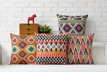Bohemia Decorative Cushions Cover Boho Throw Pillows Case Ethnic Geometric Cushion Cover Home Decor Pillowcase for sofa Price history. Category: Home & Garden. Subcategory: Home Textile. Boho Throw Pillows, Boho Cushions, Geometric Cushions, Geometric Pillow, Diy Pillows, Cushions On Sofa, Cheap Pillows, Sofa Cushion Covers, Furniture
