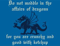 do not meddle in the affairs of dragons | dirty tease