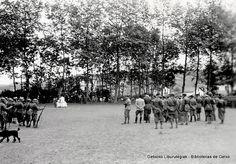 Italiar soldaduen kanpainako meza Jolaseta Klubean, 1937ko ekainaren 20an / Misa de campaña de las tropas italianas en el Club Jolaseta, 20 de junio de 1937 (Cedida por Ignacio Azaola) (ref. 04397)