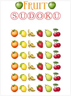 Inserting Special Characters {Fruit Edition}