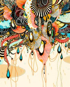 Forme multicolore