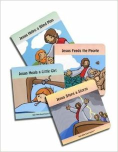 Stories of Jesus (Baby Bible Board Books Collection #1): Tim Gillette: 9780972554640: Amazon.com: Books