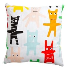 F:RG&FORM Monster Cushion Covers, available at Northlight Homestore
