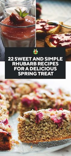 22 Sweet and Simple Rhubarb Recipes for a Delicious Treat