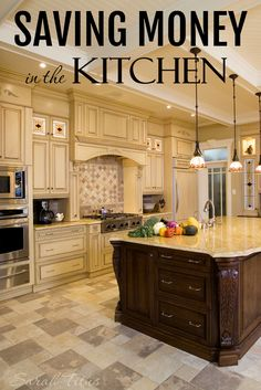 It seems like the kitchen is that one room in the house that just sucks up a lot of your money, doesn't it? Thankfully, it doesn't have to be that way. Find out how in this article, Saving Money in The Kitchen.