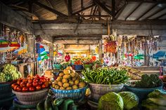 Pasar (market) in Bali, Indonesia
