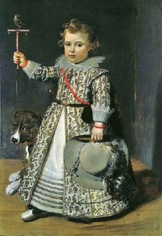 1620 Unknown artist of the Flemish School, Portrait of a boy
