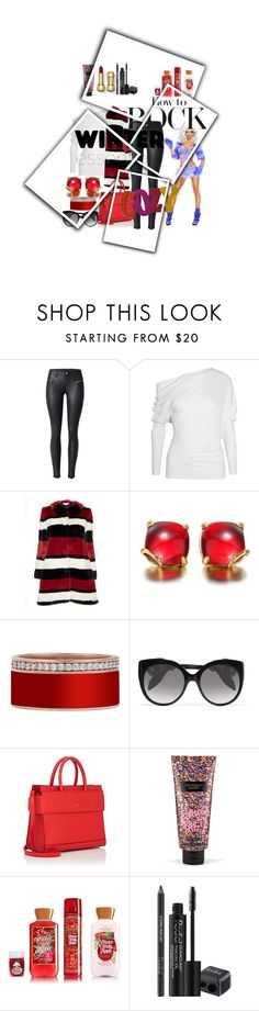 """""""Untitled #2587"""" by princhelle-mack ❤ liked on Polyvore featuring Tom Ford, Alice + Olivia, Alexander McQueen, Givenchy, Victoria's Secret and Rodial"""