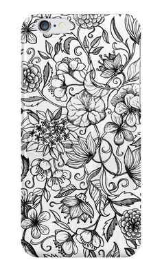 """Her Paper Garden"" iPhone Cases by micklyn 