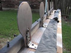 My steel targets... in my suburban backyard - Pirate4x4.Com : 4x4 and Off-Road Forum