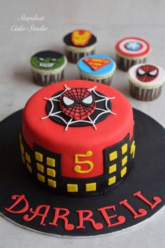 265 Best Spider Man Cakes Images Birthday Cakes Spider Man Cakes