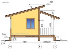 КАРКАСНЫЙ ДОМ ПРОЕКТ КД-63 Small Tiny House, Small House Design, Rest House, House In The Woods, Craftsman House Plans, Small House Plans, Building A Small Cabin, Minimal House Design, House Gate Design