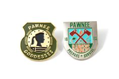 Parks and Recreation Pawnee Goddesses / Pawnee Rangers Pin Pack by Heartificial on Etsy https://www.etsy.com/listing/467957997/parks-and-recreation-pawnee-goddesses