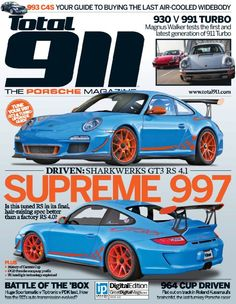 117 best porsche 997 images on pinterest cars hs sports and 4 the sharkwerks gt3 rs 41 on forgeline one piece forged monoblock ga1r wheels made the latest cover of total 911 magazine fandeluxe Gallery