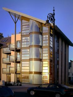 Modern Architecture in Dundee, Scotland