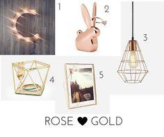 Decor: Cobre, Rose Gold e Dourado