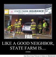 44b678e95bfc5b735ccc4a1b64b62247 insurance humor car insurance way too many doggy treats dog sleeping on couch with tongue,Like A Good Neighbor Statefarm Is There Meme