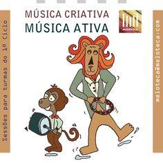 Música criativa, música ativa  [ #Música, #OficinasDeMúsica, #EB1, #MúsicaCriativa ]