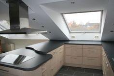 Küche unter Dachschräge ähnliche Projekte und Ideen wie im Bild vorgestellt findest du auch in unserem Magaz