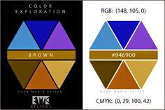 "Eva Maria Keiser Designs: Explore Color:  ""Brown"""