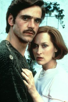 "With Jeremy Irons in ""The French Lieutenant's Woman"""