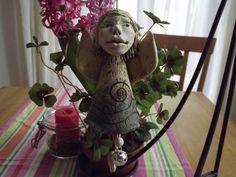 FrühlingsFee Fantasiefigur Fee Elfen Fairy Kunst von Elfenflüstern ® auf DaWanda.com