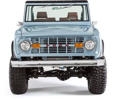 hover states on buttons and nav. Scrolling through photos per item on a page.   Classic Ford Broncos – learn more about our restoration process and the parts and components that we use in our 1966-1977 Ford Bronco restorations.