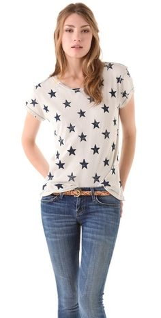 Love this #tee! Perfect with red jeans for #MemorialDay! #stars