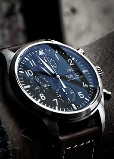I lovese the Pilot Chronograph. Best IWC watch for the money.