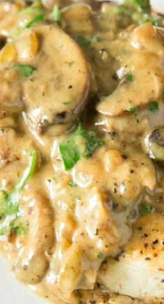 Want to try this!! Chicken and Mushroom Fricassee