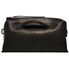 Rick Owens New Box Oversized Clutch Bag (78,615 INR) ❤ liked on Polyvore featuring bags, handbags, clutches, black, rick owens, oversized handbags, oversized purses and oversized clutches