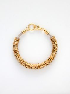 BRIKA.com | Cord & Rings Bracelet | A Well-Crafted Life