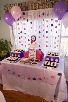 Cupcakes and Polka Dots Birthday Party Ideas | Photo 14 of 21 | Catch My Party